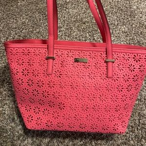 Kate Spade Floral Small Harmony Tote Bag - Pink